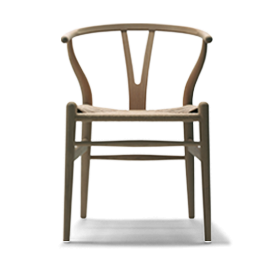 CH24 Wishbone Chair, Natural Woods
