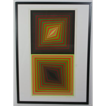 CT Designer Vintage Abstract Pop-Art by Victor Vasarelly