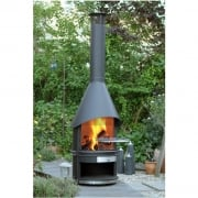 Duo Outdoor Fireplaces