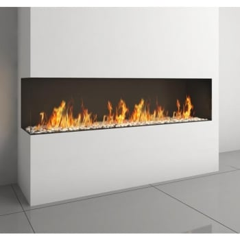 Ortal Clear TS 170 Three Sided Fire