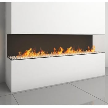 Ortal Clear TS 200 Three Sided Fire