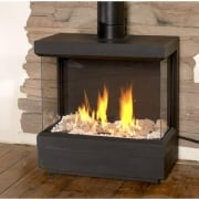 Standalone 75 TS Three Sided Fire
