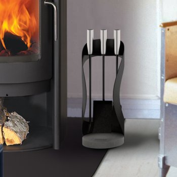 Rais Buteo Fire Set, Floor Standing